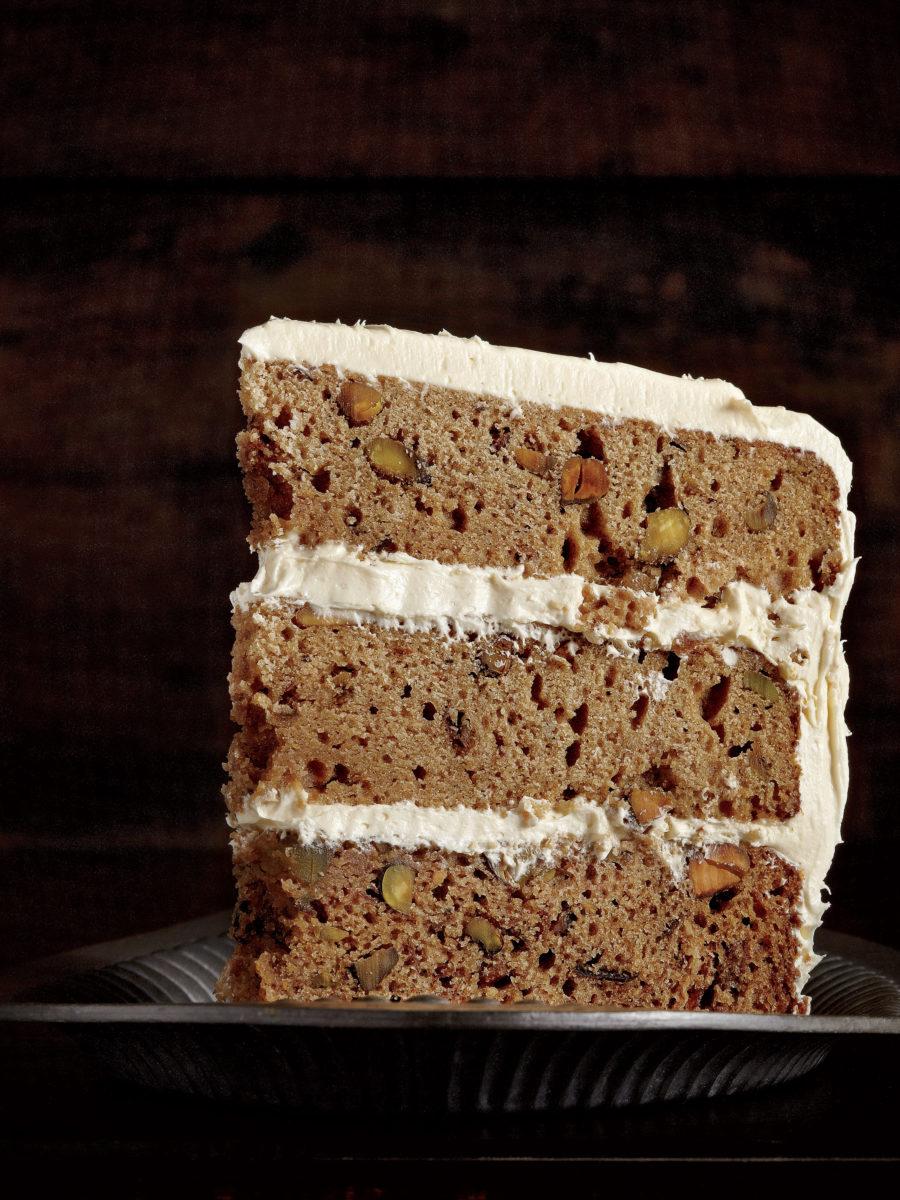 Brown Sugar Pear  Pistachio Cake  Garden  Gun