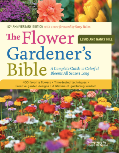 The Flower Gardener's Bible, best gardening books, gardening books, garden books, books for your garden library