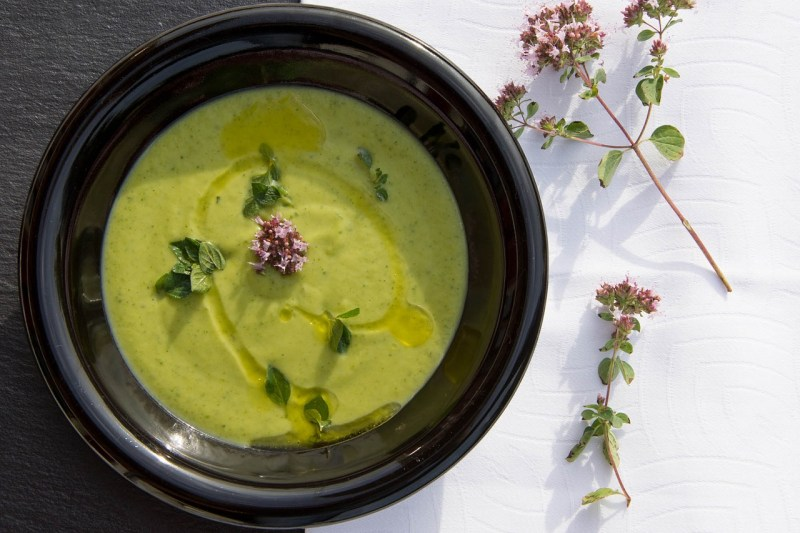 broccoli stalks soup