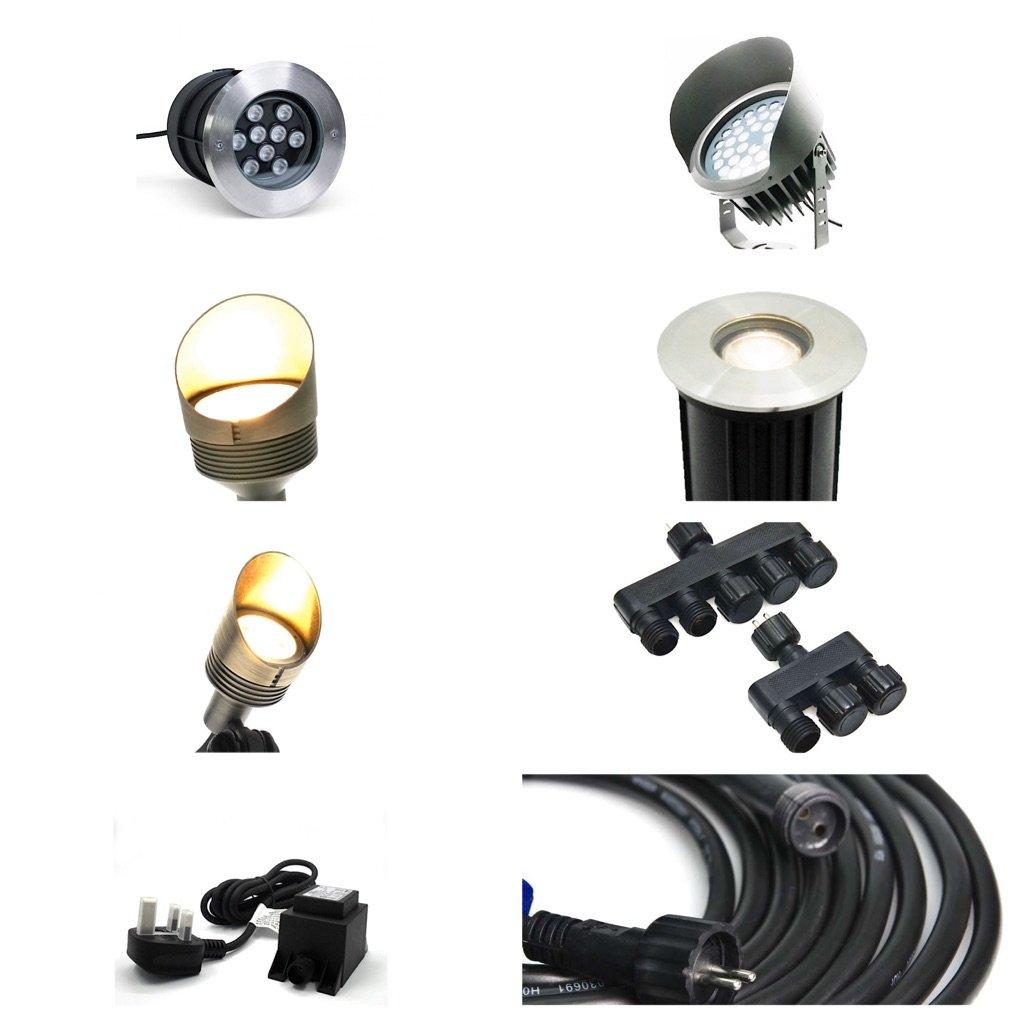 ultimate plug and play outdoor lighting kit