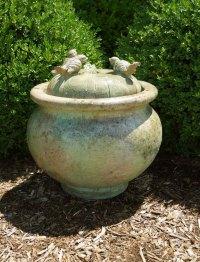 Birds Patio Bubbler Fountain   Garden Artisans, LLC