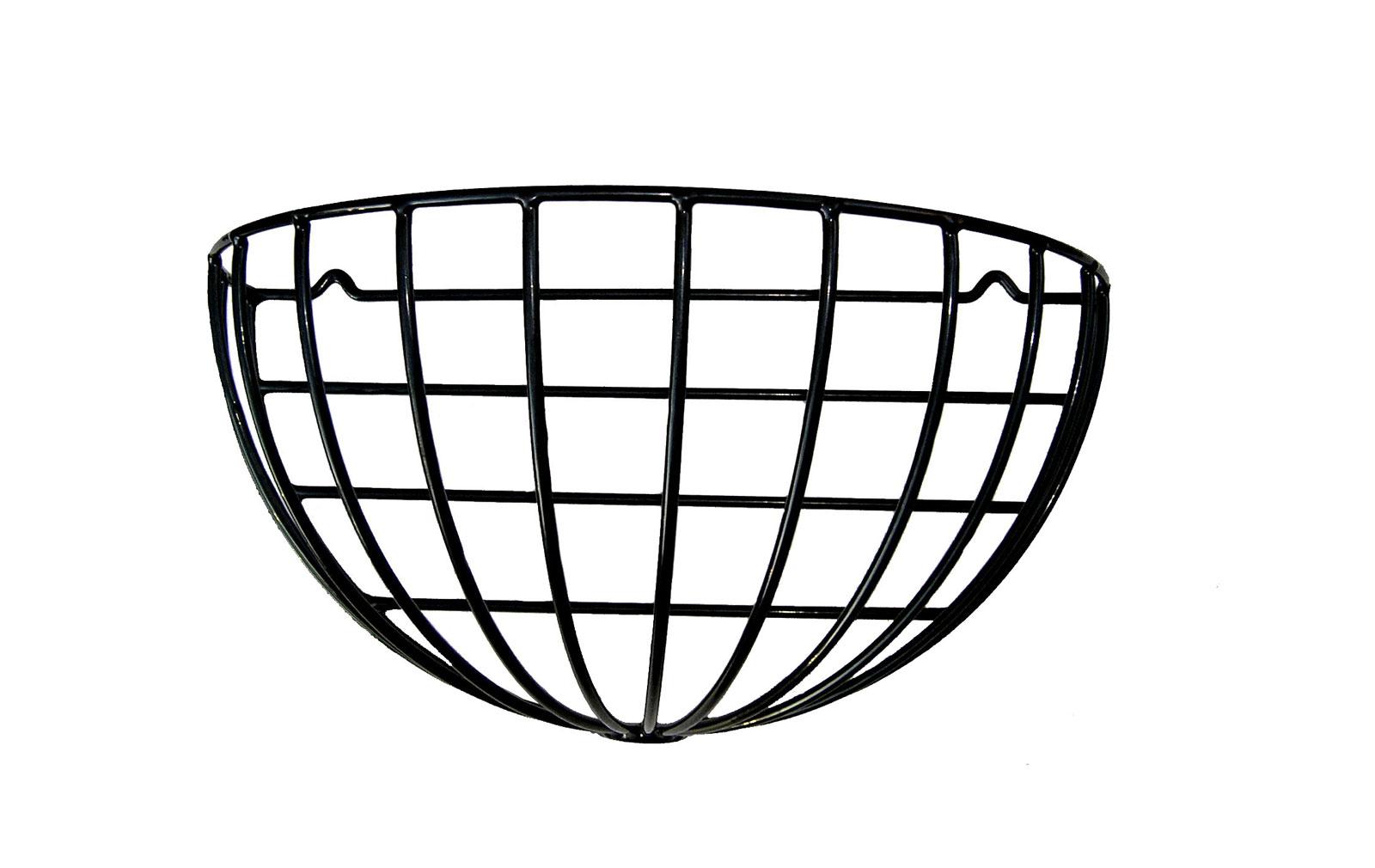22 Half Round Wall Basket