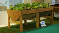 Raised planters - grow your own edibles up high