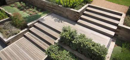 How you can design stairs in your garden in your outdoors ...