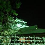 岡崎城下で桜まつり 初の夜桜見物