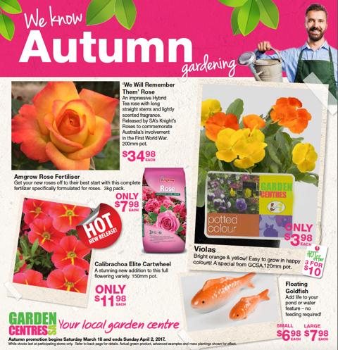 Garden Centres SA Autumn Catalogue