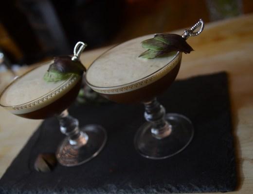 fresh artichoke cocktail cynar