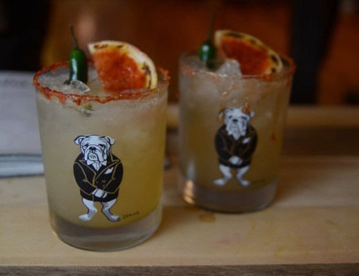 charred grapefruit margarita