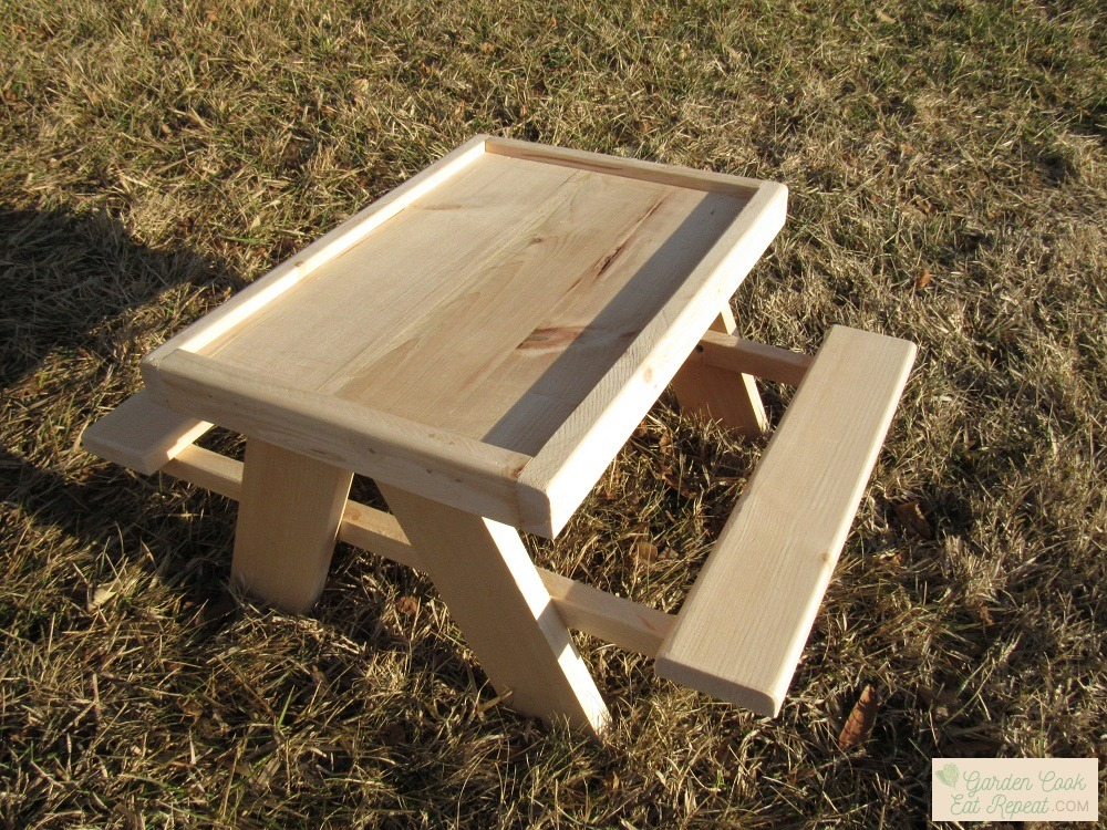 We might sell chicken picnic tables