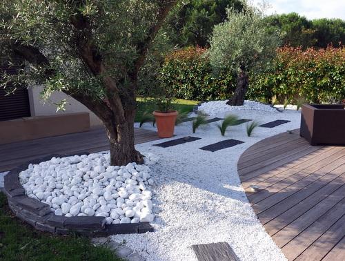 Jardin Noir Et Blanc
