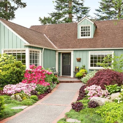 Best Front Sidewalk Landscaping Ideas | Design Ideas And Decor in Front Sidewalk Landscaping Ideas