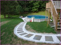 Small Backyard Landscaping Ideas With Above Ground Pool ...