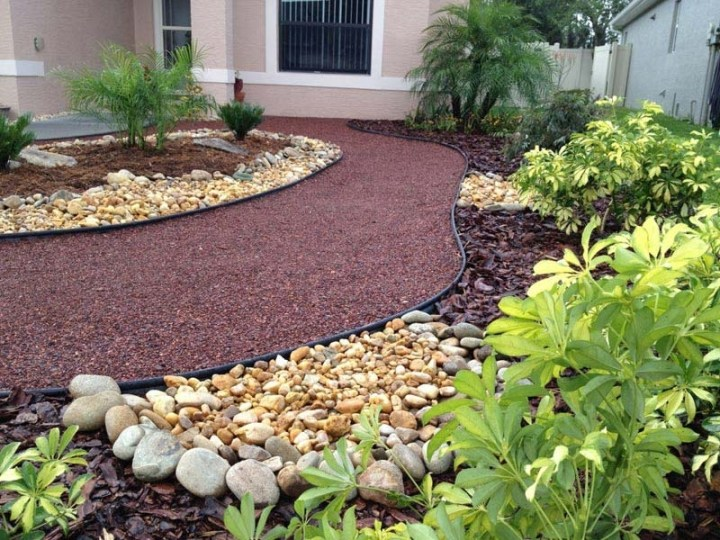 Landscaping-Ideas-For-Front-Yard-No-Grass   Front Yard Ideaas with regard to Landscaping Ideas For Front Yard No Grass