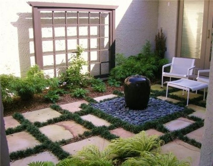 The 25+ Best Ideas About Small Courtyards On Pinterest | Courtyard in Garden Designs For Small Courtyard Gardens