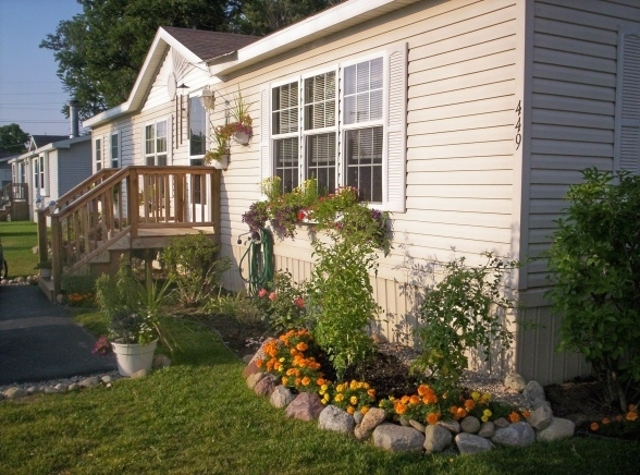 landscaping ideas front yard mobile