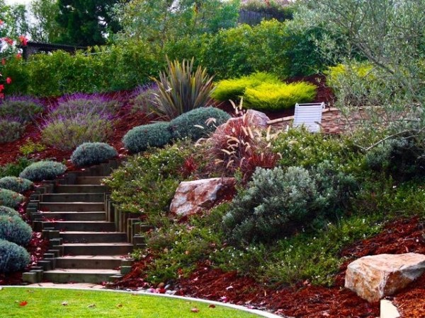 landscaping ideas front yard steep