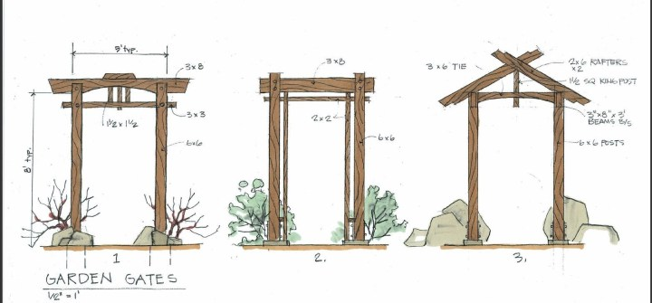Japanese Gate Plans | Gate Design By Karl – Daizen Joinery | Zen for Zen Garden Gate Design