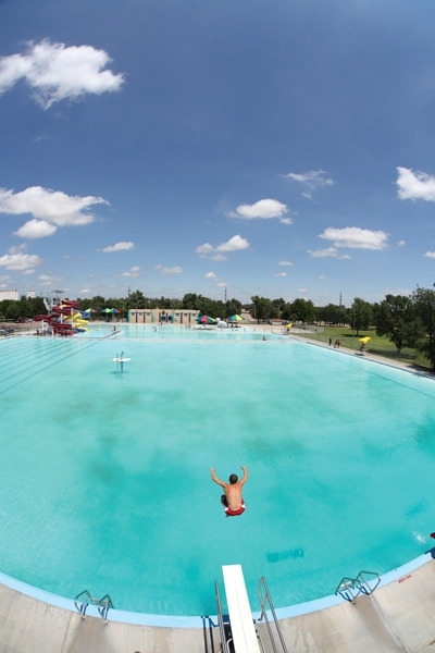 The 8 Wonders Of Kansas Customs - A Kansas Sampler Foundation Project with Garden City Swimming Pool