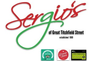 Sergio's, London - Fitzrovia - Menu, Prices, Restaurant for Oriental Garden Northampton Hygiene Rating