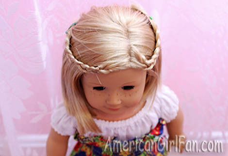 Hairstyles For Short American Girl Doll Hair! AmericanGirlFan