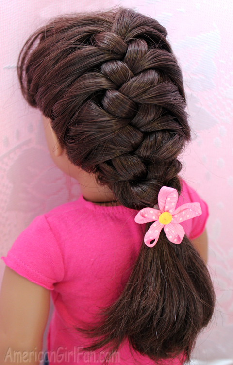 Doll Hairstyle How To Do A French Braid AmericanGirlFan