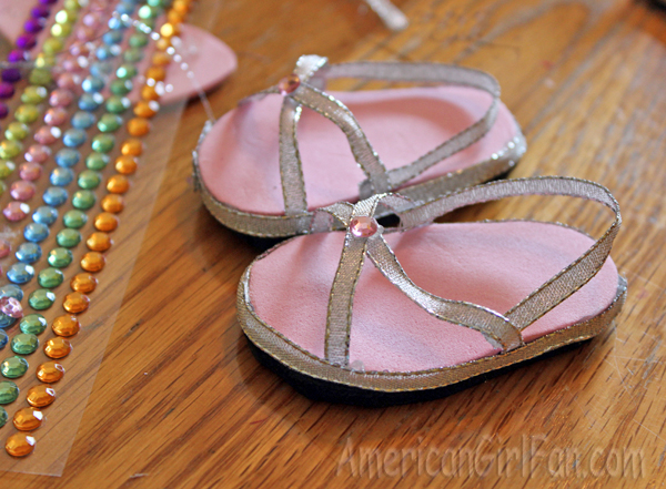 Doll Craft How to Make Doll Sandals With Free Pattern