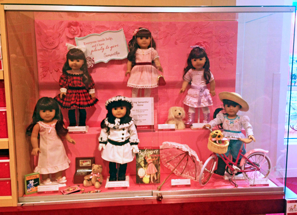 American Girl Store Pictures of BeForever Samantha
