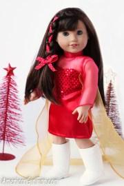 doll hairstyle side braid