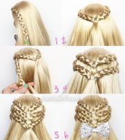 doll hairstyle triple braided