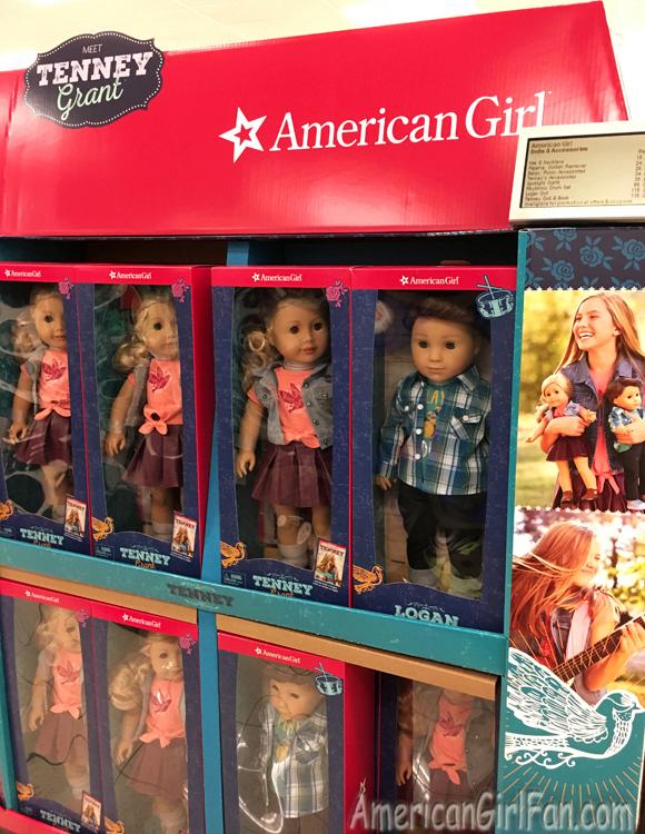 American Girl Dolls Tenney Grant  Logan Everett At Kohls