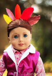 doll hairstyle thanksgiving turkey