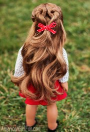 doll hairstyle valentine's day
