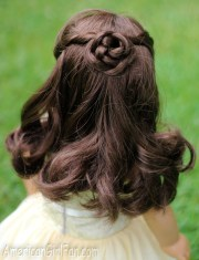 doll hairstyle - braided