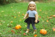 doll hairstyle halloween ponytail