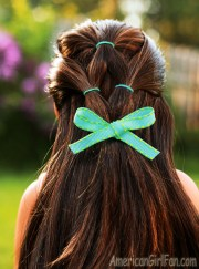 doll hairstyle quick & easy ponytail