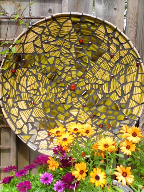 Creating Garden Mosaic Knitting
