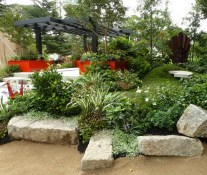 Candeo Design's abundance of plants made it a pleasure to walk around