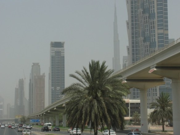 Dubai - a hot, smoggy, rapid desert-to-the-biggest-everything-in-the-world transformation