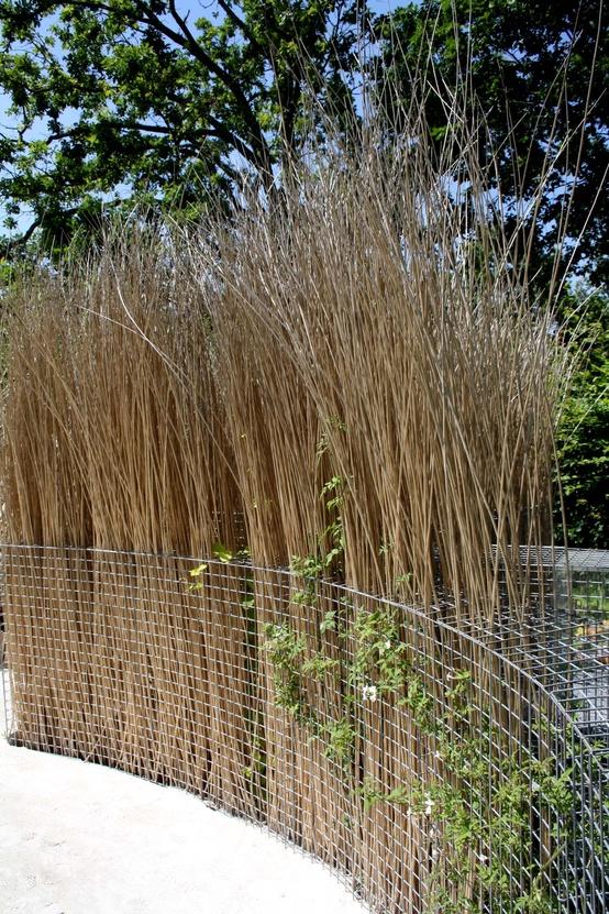 gabion grass divides