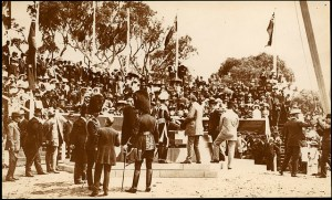 Canberra's Founadtion Stone 1913