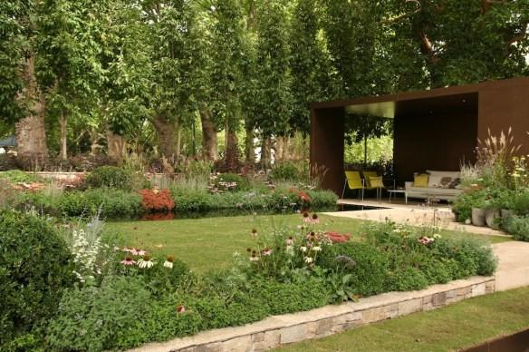 Ian Barker garden MIFGS 2013