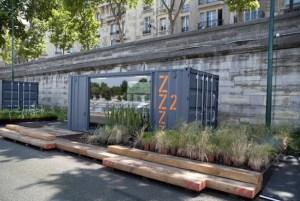 ZZZ container Photo Marie de Paris