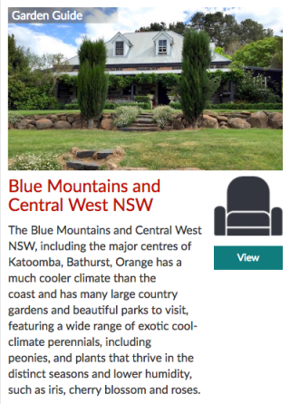 Garden Travel Guide Blue Mountains and Central West NSW