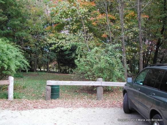 The parking lot that became Carlisle Center Park