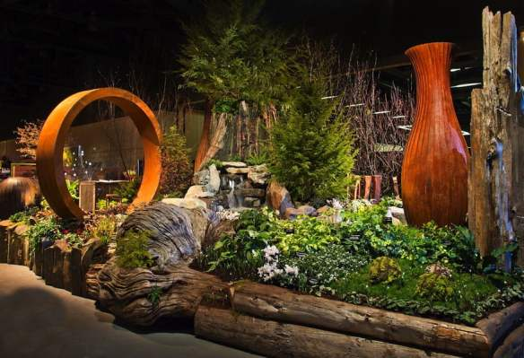Northwest Flower & Garden Show 2014 Best in Show - Arouse| Evoke| Create| Grow| Chill