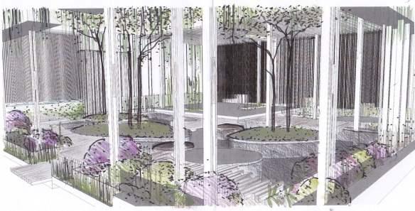Brendan Moar design for Singapore Garden Festival 2014