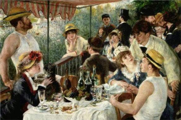 Auguste Renoir - The Luncheon of the Boating Party