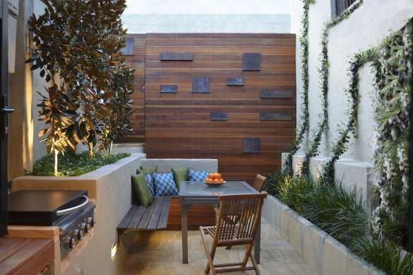 Sydney courtyard. Design by Outhouse Designs