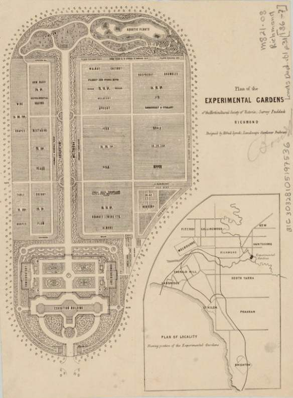 Lynch Plan c1861 (courtesy Burnley Archives)