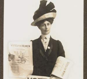 Australian suffragist Vida Goldstein